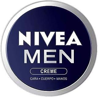 NIVEA MEN Creme (1 x 150 ml) crema para hombres crema para cara cuerpo y manos crema multiusos hidratante para el cuid...