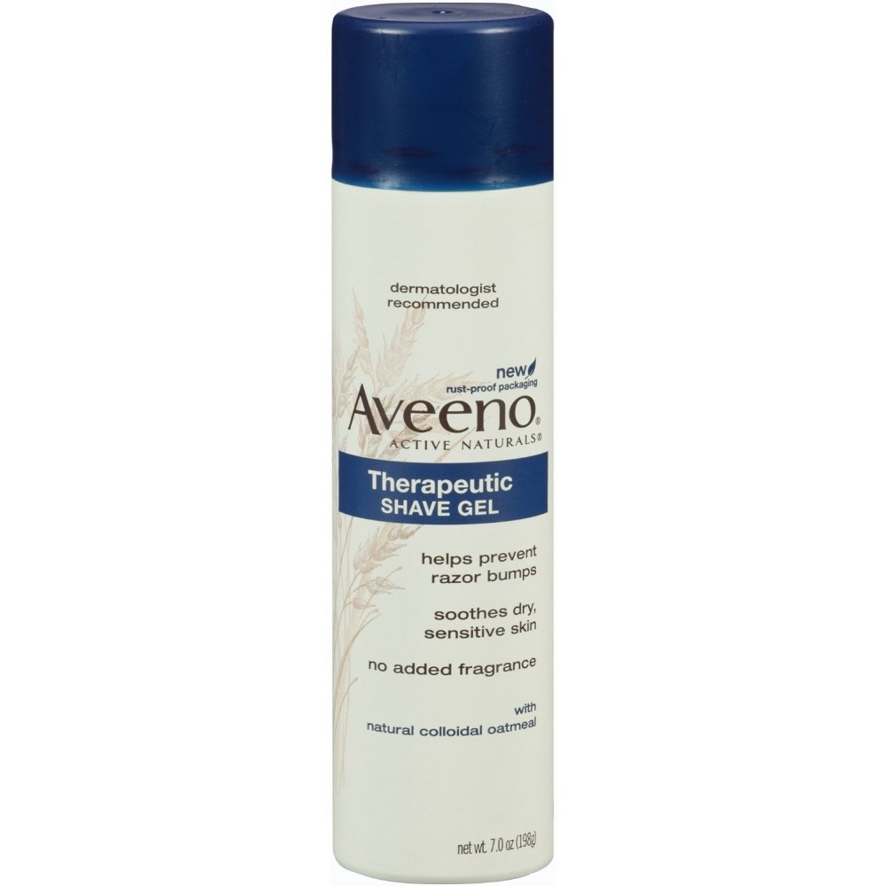 Special pack of 6 Aveeno Therapeutic Shaving Gel - 7 oz