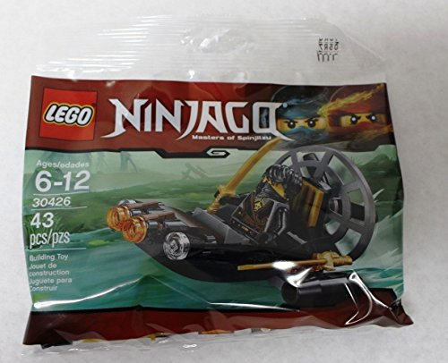 LEGO Ninjago 30426 – Camuflaje pantano Barco de Cole en una Misión Secreta