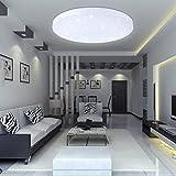VINGO 16W LED Deckenbeleuchtung rund Deckenlampe Starlight Effekt schön Wohnraum Wohnzimmer Lampe...