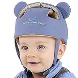 Ocanoiy Baby Infant Toddler Helmet Safety Headguard Head Protective Cushion Children Adjustable Safety Helmet Hat Harnesses Cap Kid Child Crawl Walk Playing (Grey)