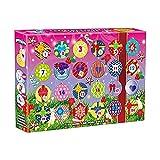 Luukiy Calendario Dell'Avvento 2021,Incluse 24 Uova di Elfo,Calendario Dell'Avvento per Bambini,Giocattoli Bambini,Regali di Compleanno per Bambini/Regali di Natale,Giocattoli Calendario Avvento