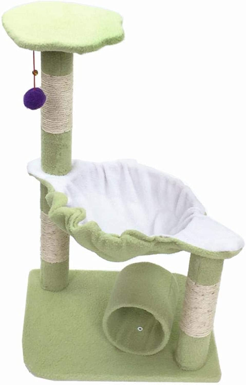 Dixinla Cat climbing frame Mediumsized pet cat Toy cat Tree Platform grab plate grab Board furniture 45  37  71cm