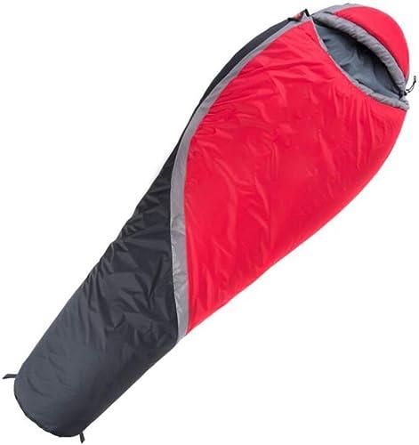JW-DDP Sac de Couchage Hivernal en Plein air, Sac de Couchage Simple et  ifié pour Adulte Super Chaud et épais