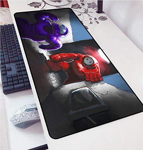 Among Us DIY Design Pattern Gaming Mousepad Computer Padmouse for LOL Csgo 900x400mm Large Mouse Pad Keyboards Mat Christmas-Among US 4_400x900x2mm