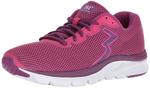 361° Women's 361-ENJECTOR Running Shoe, Sparkle/Phlox_1339, 9 M US