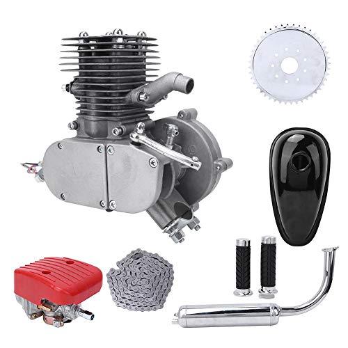 Kit de motor de bicicleta Vikye de 100 cc, Kit de bicicleta de motor de gas de 2 tiempos Kit de conversión de bicicleta eléctrica, Kit de motor de bicicleta eléctrica