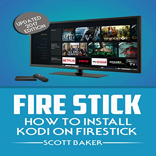Fire Stick audiobook cover art