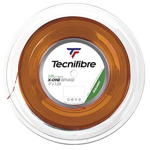 Tecnifibre X-One Squash - Bobina de 200 m para Adulto, Unisex, Color Naranja