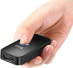 Eyoyo Escáner Lector Código de Barras, Mini CCD Bluetooth Inalámbrica 3-en-1 Bluetooth & USB Wired & 2.4 Inalámbrico 1D Escáner de Imágenes para iPad, iPhone, Android Phones, Tablets PC
