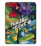 Super Soft Throws - TMNT - Ninja Power New 45x60 Blanket