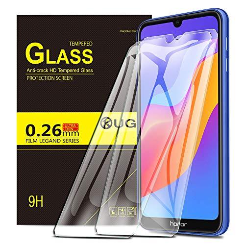 KuGi. für Honor 8A / Huawei Y6 Pro 2019 / Y6 2019 Panzerglas, Honor 8A Schutzfolie 9H Hartglas HD Glas Blasenfrei Bildschirmschutzfolie passt für Honor 8A Smartphone. Klar [2 Pack]