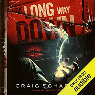 The Long Way Down audiobook cover art