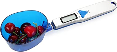 Spoon Scale - Digital Scale Spoon LCD Display Kitchen Spoon Scale 500g/0.1g Electronic Measuring Spoon Scales with 3 Detachab