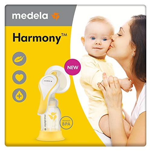 Medela, Harmony Flex, Tiralatte Manuale Ultra Leggero, con Tecnologia Flex, Ideale per un'Estrazione del Latte Veloce e Confortevole
