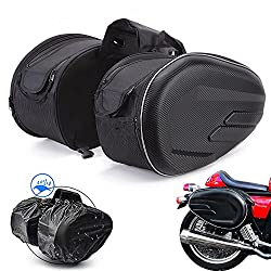 top rated Motorcycle Saddlebag / Suitcase Waterproof Travel Bag 36L-58L Expandable Capacity 2021