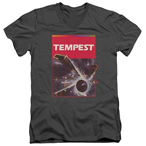 Atari – Camiseta de cuello en V Art de la caja Tempest...