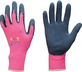 東和コーポレーション 《ガーデニング手袋》 ウィズガーデン フローラ ピンク 8/Mサイズ No.315