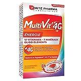 Forté Pharma Multivit' 4g Energie | Multi-Vitamines + Minéraux | 12 Vitamines, 7 Minéraux Et Oligo-Éléments | Complément Alimentaire pour Adultes | 30 Comprimés Bi-Couches