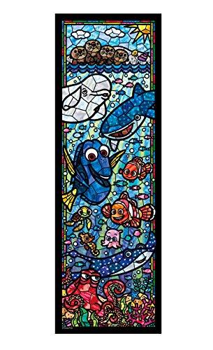 456ピース ジグソーパズル ファインディング・ドリー ステンドグラス ぎゅっとシリーズ【ステンドアート】(18.5x55.5cm)