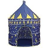 Jasonwell Casa de campaña con diseño de Castillo para niños niñas Tiendas de...