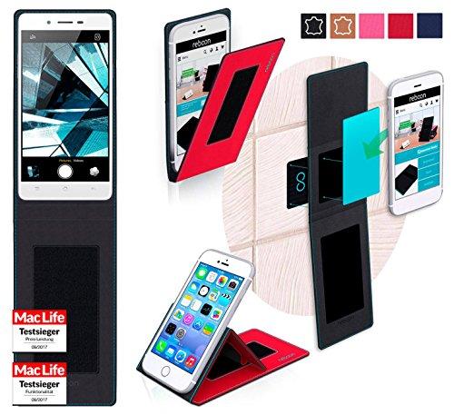 Hülle für Oppo Mirror 5s Tasche Cover Hülle Bumper | Rot | Testsieger