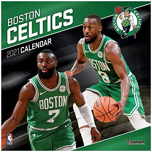 TURNER Sports Boston Celtics 2021 12X12 Team Wall Calendar (21998011870)