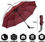 Zoom IMG-2 newdora ombrello portatile automatico antivento