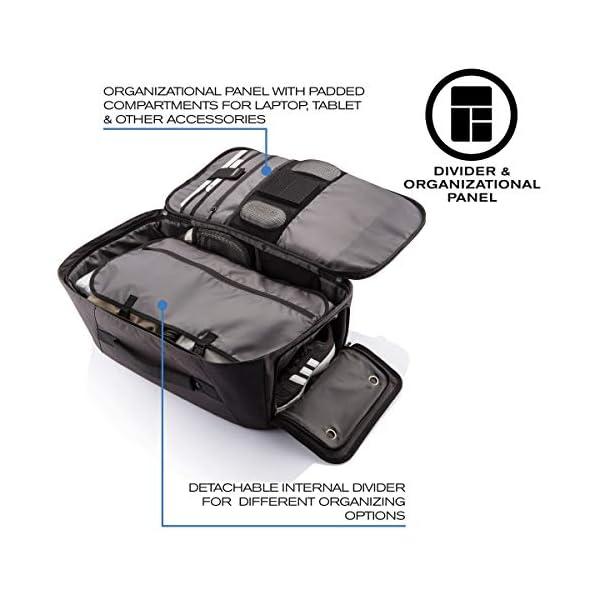 "51kqA9wVb L. SS600  - XDDesign Swiss Peak 17"" Outdoor Laptop Rucksack, Schwarz - Luggage- Footlocker Unisex"