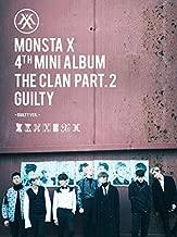 Monsta X Mini Album Vol. 4 - The Clan 2.5 Part. 2 Guilty(random) [+official folded poster][+autograph polaroid photocard][+Postcard][+Sticker]