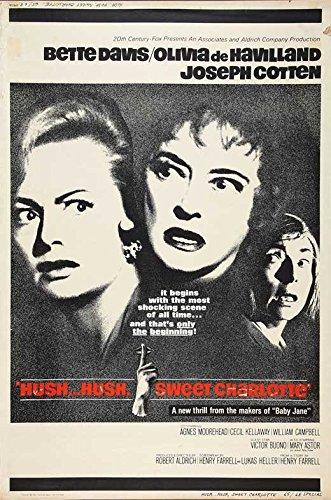 Hush Hush, Sweet Charlotte Poster Movie D 27 x 40 Inches - 69cm x 102cm Bette Davis Olivia de Havilland Joseph Cotten Agnes Moorehead Cecil Kellaway