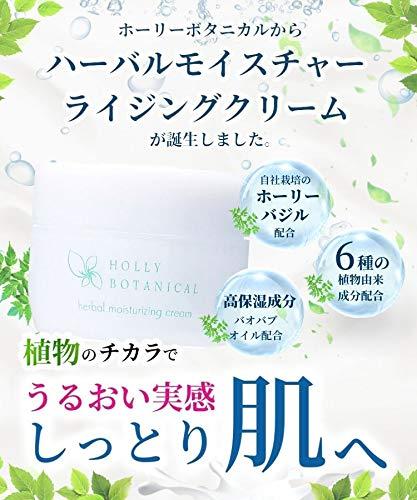 ホーリーボタニカル保湿クリーム30gフェイスクリームHollybotanicalハーバルモイスチャライジングクリーム
