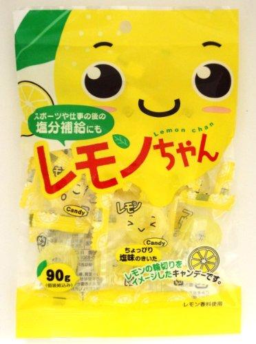 川口製菓 レモンちゃんキャンディ 90g×10袋