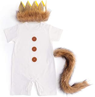 Where The Wild Things are Costume Wild One Birthday Boy Outfit Wild One Long Sleeve Romper Party
