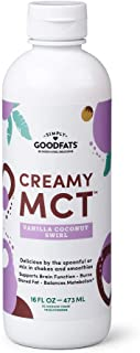Simply GOODFats Simply Goodfats Creamy Mct Vanilla Coconut Swirl, 16 Fluid Ounce