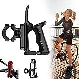 Eyscoco Flaschenhalter Fahrrad,360 Grad drehbarer Fahrrad Wasser Flaschenhalter,Einstellbare Fahrrad Flaschenhalter mit Flaschenhalter Adapter,für Fahrrad,Rennrad,Mountainbikes,Kinderwagen usw