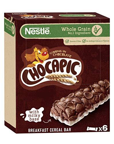 Barritas Nestlé Chocapic - 8 paquetes de 6 barritas, Total: