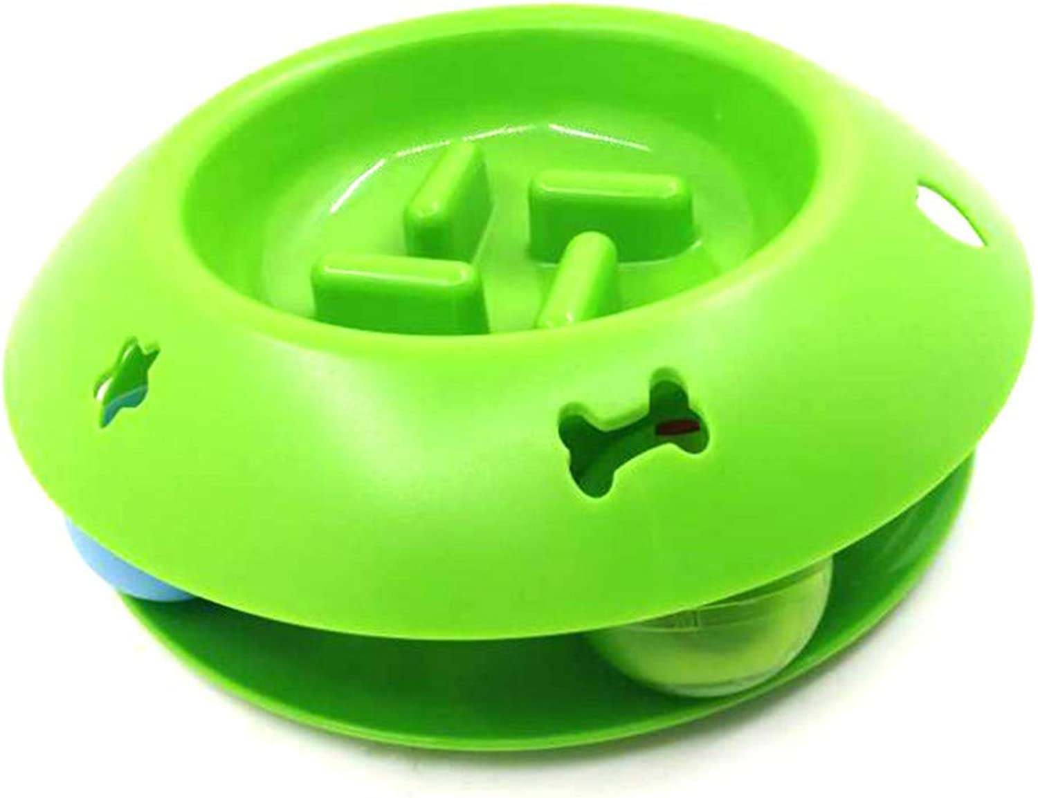 Pet Feeder Cat and Dog Slow Food Bowl Cat Food Bowl Ball Cat Food Bowl