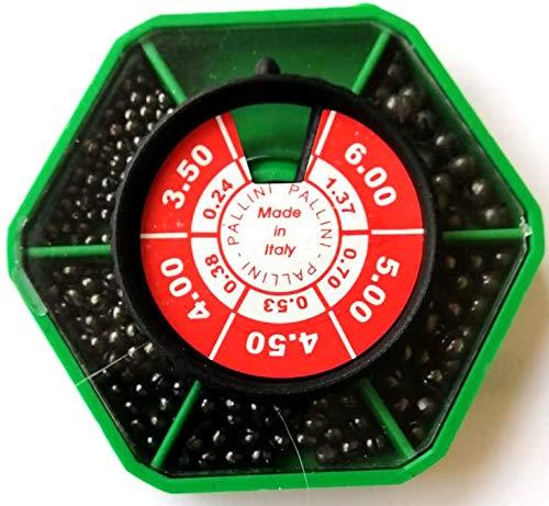 RIF.301603 Sechseckige Blei-Box für Angeln mit dem Schwimmer