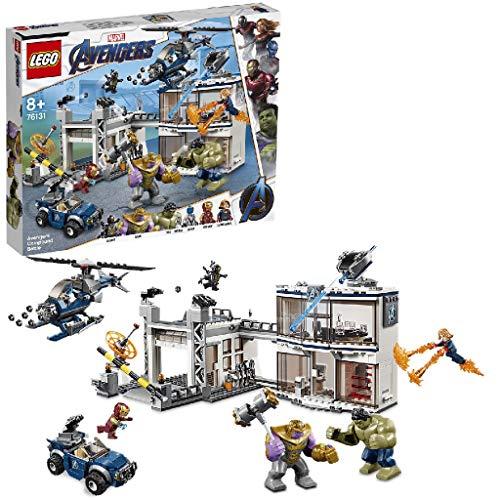 LEGO® Marvel Super Heroes™ L'attaque du QG des Avengers Jeu de...