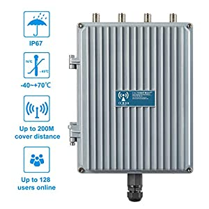 E-link 802.11AC 1200Mbps High Power Outdoor IP67 WiFi Base Station Wireless Access Point Industrial Grade Waterproof 2…