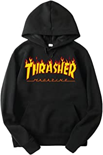 Flame Thrasher Magezine Hoodie for Man Pullover Long Sleeve Sweatshirt Unisex