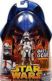 Clone Commander Battle Gear (Red Vari) No. 33–Star Wars–Revenge of the Sith Collection 2005de Hasbro