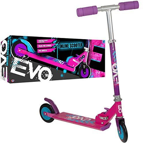EVO - Monopattino a 2 ruote, colore: Rosa