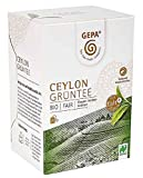 Gepa Bio Ceylon Grüntee - 100 Teebeutel - 5 Pack ( 20 x 2g pro Pack)