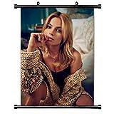 Margot Robbie Fabric Wall Scroll Poster Schauspielerin