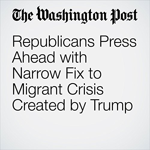 Republicans Press Ahead with Narrow Fix to Migrant Crisis Created by Trump copertina