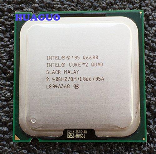 Intel Core 2 Quad Q6600 - Procesador de CPU de cuatro núcleos (2,4 GHz, SLACR LGA 775 8 M)