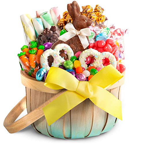 Chocolate and Candy Easter Basket