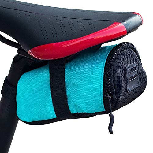 Haoooan Phone Holder for Bike Bicycle Strap-On Bicycle Saddle Bag/Bicycle Seat Pack Bag, (Color : A)